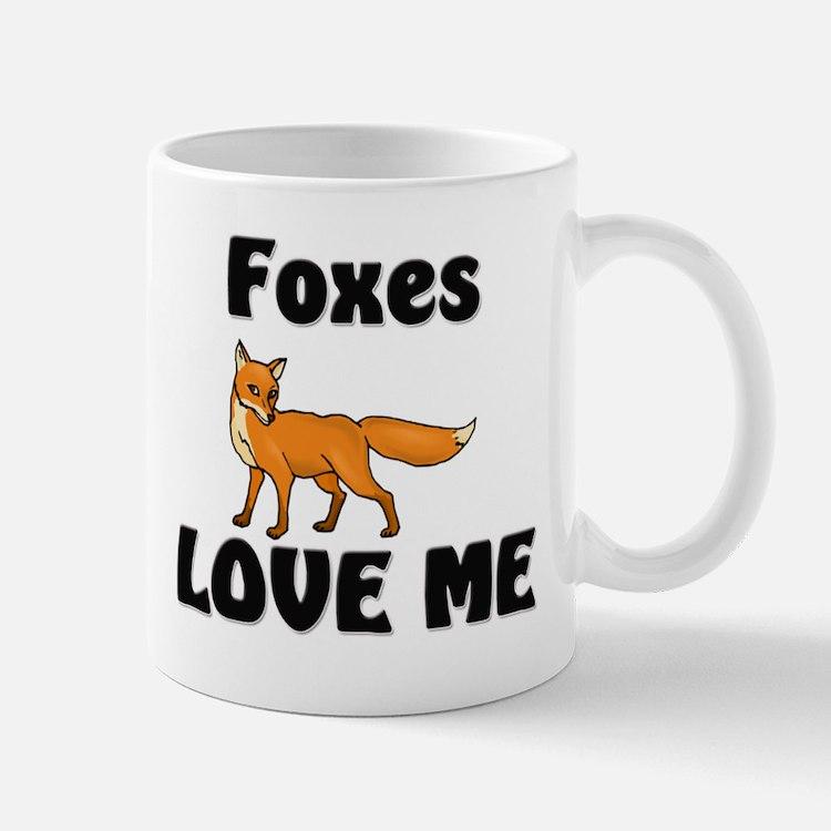Foxes Love Me Mug