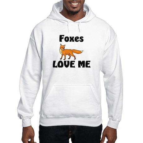 Foxes Love Me Hooded Sweatshirt
