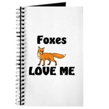 Foxes Love Me Journal