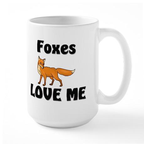 Foxes Love Me Large Mug