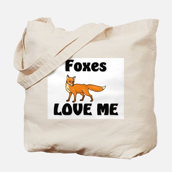 Foxes Love Me Tote Bag