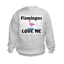 Flamingos Love Me Sweatshirt