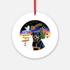 Xsigns-Rottweiler (gp)ornament (round)