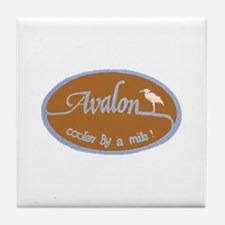 Avalon ... Cooler by a mile! Tile Coaster