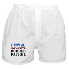 USA Border Patrol Boxer Shorts
