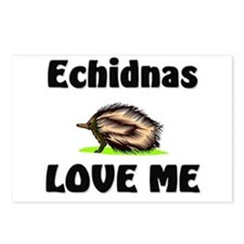 Echidnas Love Me Postcards (Package of 8)