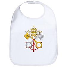 Papacy Emblem Bib