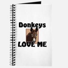 Donkeys Love Me Journal