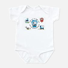 Pennsylvania German Flag Infant Bodysuit