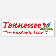 Tennessee Eastern Star Bumper Bumper Bumper Sticker