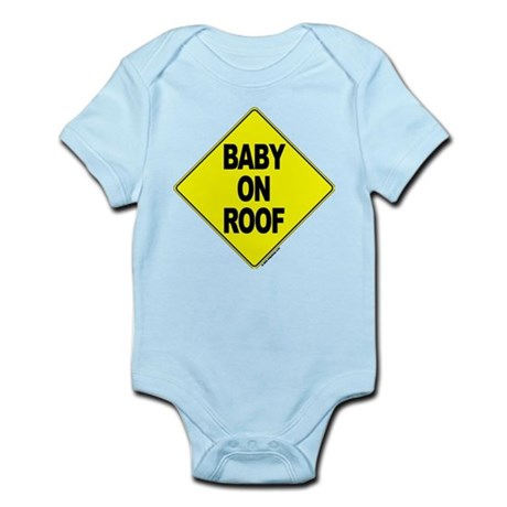 Baby on Roof - Infant Creeper