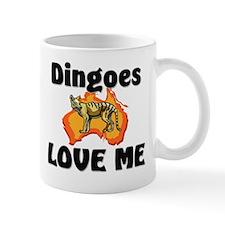 Dingoes Love Me Small Mug