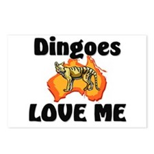 Dingoes Love Me Postcards (Package of 8)
