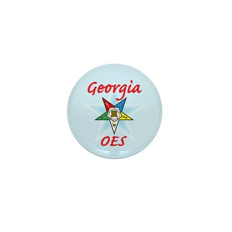 Georgia Eastern Star Mini Button (100 pack)