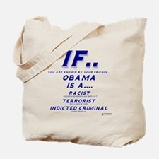 Known by your friends Tote Bag