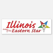 Illinois Eastern Star Bumper Bumper Bumper Sticker