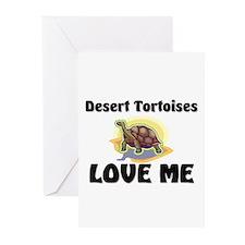 Desert Tortoises Love Me Greeting Cards (Pk of 10)