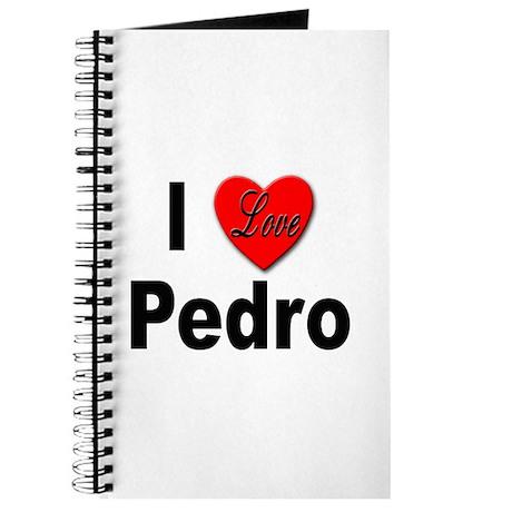 I Love Pedro Journal