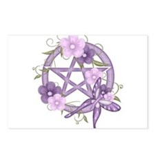 Unique Wiccan Postcards (Package of 8)