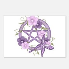 Cute Pagan Postcards (Package of 8)