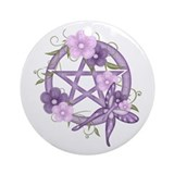 Wiccan Round Ornaments