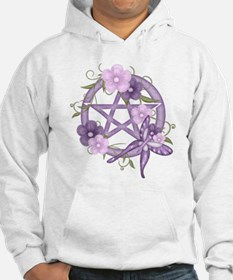 Funny Tolerant wicca pagan wiccan chronic Hoodie