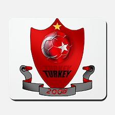 Turkish Football Shield Mousepad