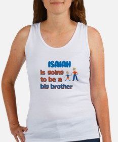 Isaiah - Big Brother To Be Women's Tank Top