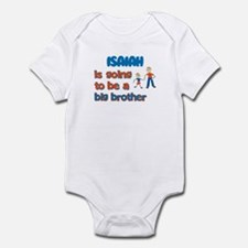 Isaiah - Big Brother To Be Infant Bodysuit