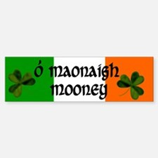Mooney in Irish & English Bumper Bumper Bumper Sticker