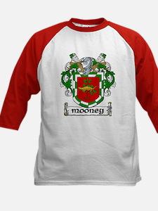 Mooney Coat of Arms Kids Baseball Jersey