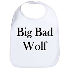 "Instant ""Big Bad Wolf"" Bib"