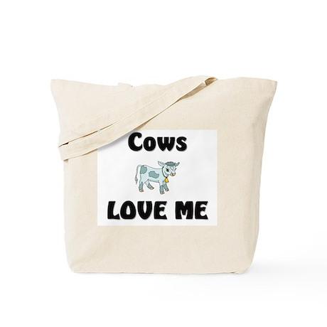 Cows Love Me Tote Bag
