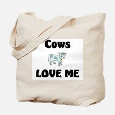 Cows Love Me Tote Bag