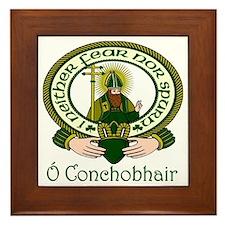 O'Connor (Gaelic) Motto Framed Tile