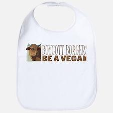 Boycott Burgers - Vegan Bib