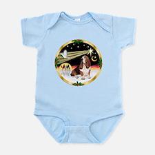 XmasDove/Basset Hound Infant Bodysuit