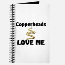Copperheads Love Me Journal