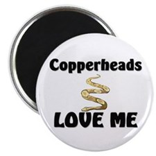 Copperheads Love Me Magnet