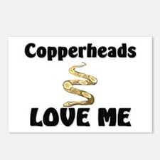 Copperheads Love Me Postcards (Package of 8)