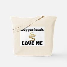 Copperheads Love Me Tote Bag
