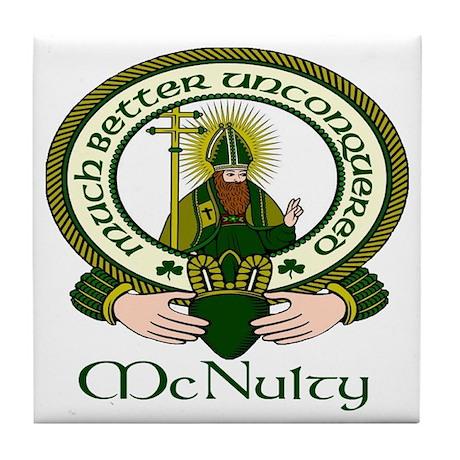 McNulty Clan Motto Tile Coaster