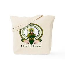 McManus Clan Motto Tote Bag