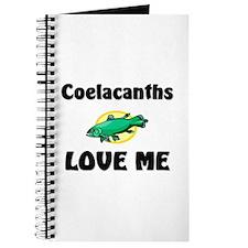 Coelacanths Love Me Journal