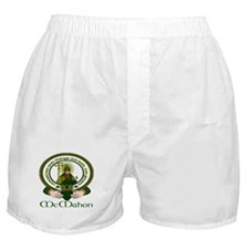 McMahon Clan Motto Boxer Shorts