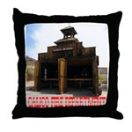 Calico Fire Hall Throw Pillow