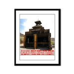 Calico Fire Hall Framed Panel Print
