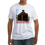 Calico Fire Hall Fitted T-Shirt