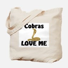 Cobras Love Me Tote Bag