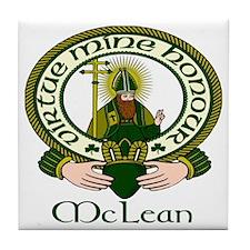 McLean Clan Motto Tile Coaster